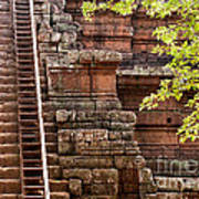 Phimeanakas Temple Steps Art Print