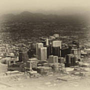 Phoenix Az Downtown 2014 Heirloom Art Print