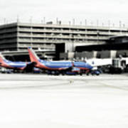 Phoenix Az Southwest Planes Art Print