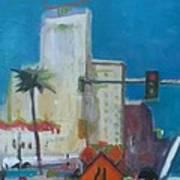 Phoenix Downtown Art Print