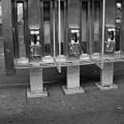 Phone Booth In New York City Art Print