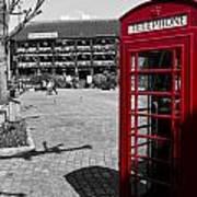 Phone Box London Art Print