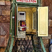 Phone Home - Telephone Booth Art Print