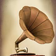 Phonograph Record Player Art Print
