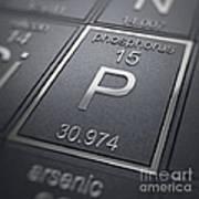 Phosphorus Chemical Element Art Print