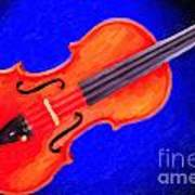 Photograph Of A Complete Viola Violin Painting 3371.02 Art Print
