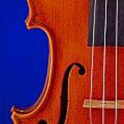 Photograph Of A Viola Violin Side In Color 3372.02 Art Print
