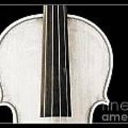 Photograph Or Picture Viola Violin Body In Sepia 3367.03 Art Print