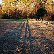Photographer Shadow Art Print