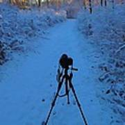 Photography In The Winter Art Print