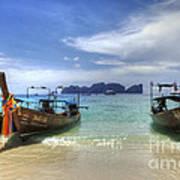 Phuket Koh Phi Phi Island Art Print by Bob Christopher