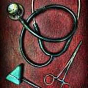 Physician's Tools  Print by Lee Dos Santos