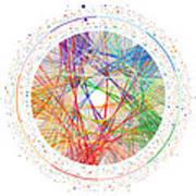 Pi Transition Paths Art Print