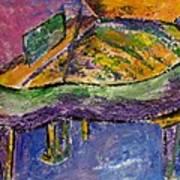 Piano Purple Art Print