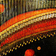 Piano Strings Art Print