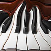 Piano Wave Art Print