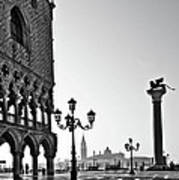 Piazza San Marco Print by Marion Galt