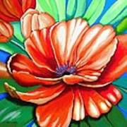 Pick Me Poppy Art Print