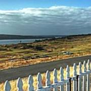 Picket Fence - Chambers Bay Golf Course Art Print