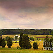Pickets Charge - Gettysburg - Pennsylvania Art Print