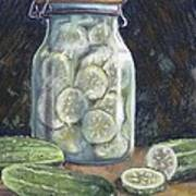 Pickled Cucumbers Art Print