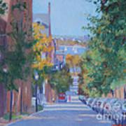 Pickney Street Fall Art Print