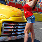Pickup Pinup Print by Mark Spearman