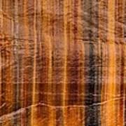 Pictured Rocks Vibrant Layers Art Print