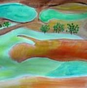 Picturesque Landscape Art Print