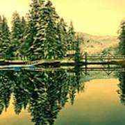 Picturesque Norway Landscape Art Print