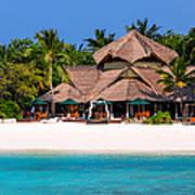 Piece Of Paradise. Maldives Art Print