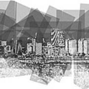 Pieces- City on the James Art Print