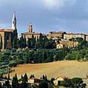 Pienza A Hill Town In Tuscany Art Print