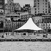 Pier 45 Hudson River Park New York City Print by Joe Fox