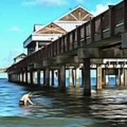Pier 60 - Clearwater Florida  Art Print