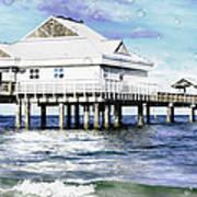 Pier 60 Art Print