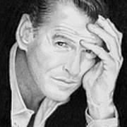 Pierce Brosnan Art Print