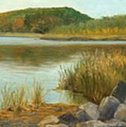 Piermont Shoreline Art Print