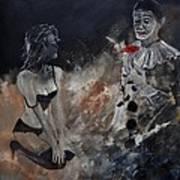 Pierrot Lunaire Art Print