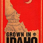 Pierrot Of Idaho Art Print