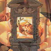Pieta Art Print by Mia Tavonatti