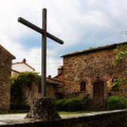 Pieve Di Santa Maria All Sovaro Art Print