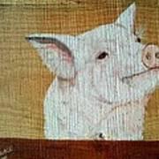 Pig Smile Art Print
