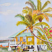 Pigeon Key - Home Art Print