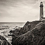 Pigeon Point Light Art Print