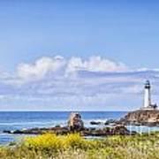 Pigeon Point Lighthouse California Art Print