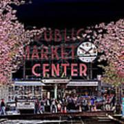 Pike Place Market IIi Art Print