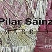 Pilar Sainz Designer Art Print