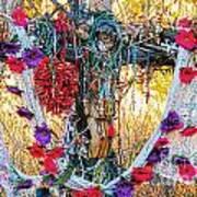 Pilgrimage Shrine Art Print