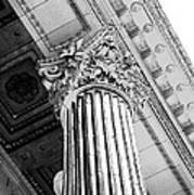 Pillar Of Finance  Art Print by Cathie Tyler
